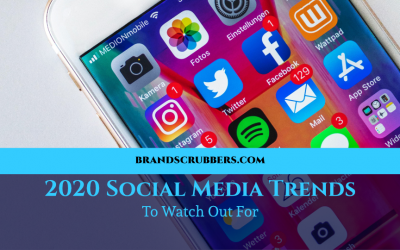 2020 Social Media Trends To Watch Out For