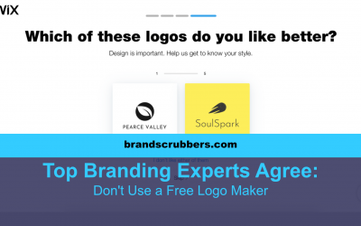 Top Branding Experts Agree - Don't Use a Free Logo Maker